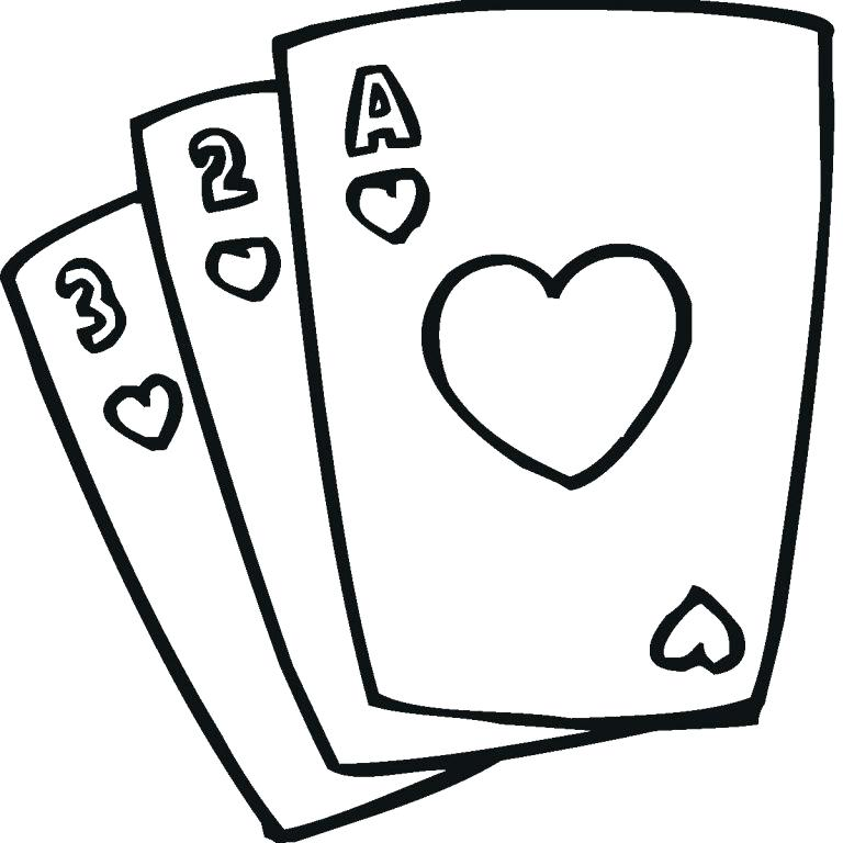 768x768 Playing Cards Clipart Five 5 Of Clubs Playing Card By Playing Card