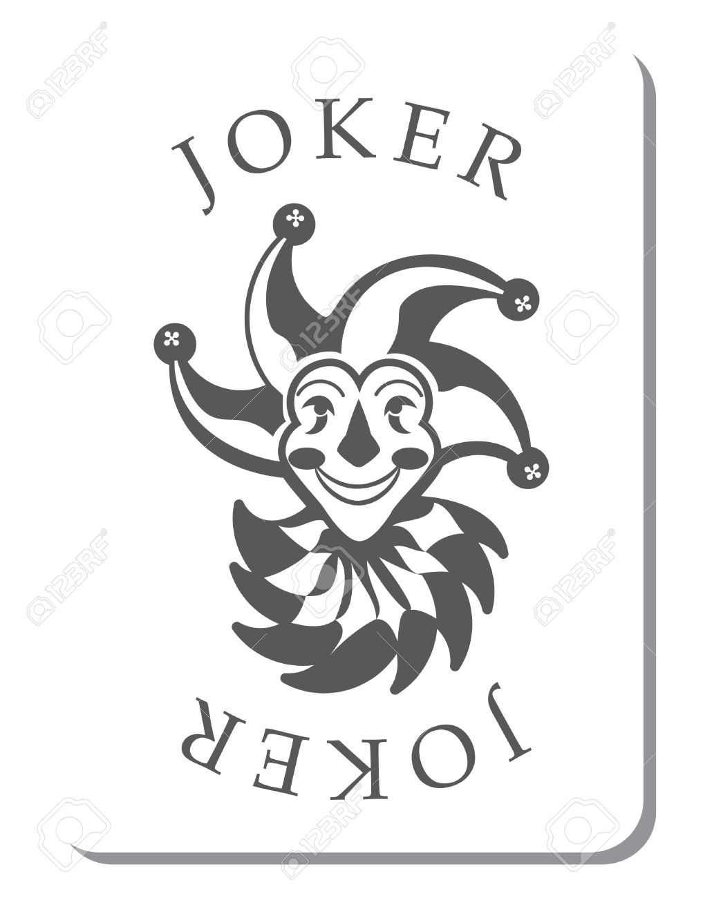 1017x1300 Playing Cards With The Joker From A Deck Of Playing Cards Royalty