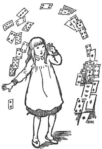 329x483 Public Domain Images 022 Girl In Dress Confused Playing Cards