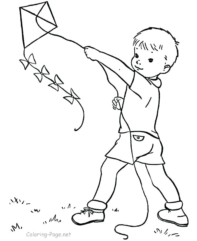 670x820 Kite Drawing For Coloring Kite Coloring Page Photos Kite Drawing