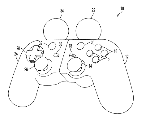 485x384 Sony's New Motion Device Sony Patents Hybrid Dualshock Move