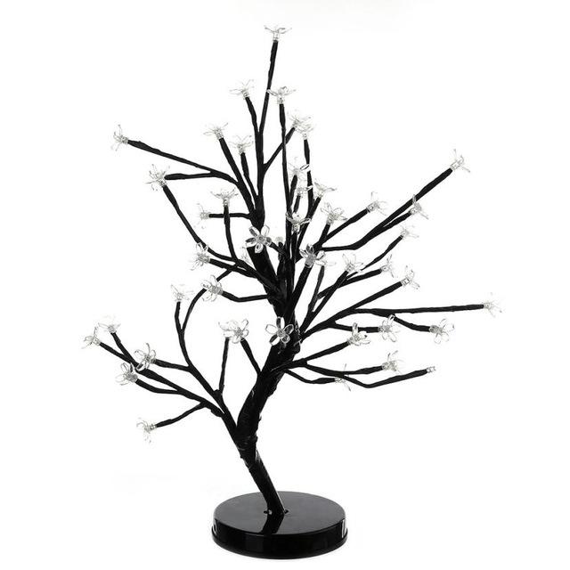 640x640 Casamento Christmas Gifts 48 Led Plum Blossom Desk Top Bonsai Tree