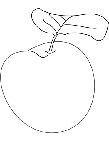 371x480 Plum Coloring Page Free Printable Coloring Pages