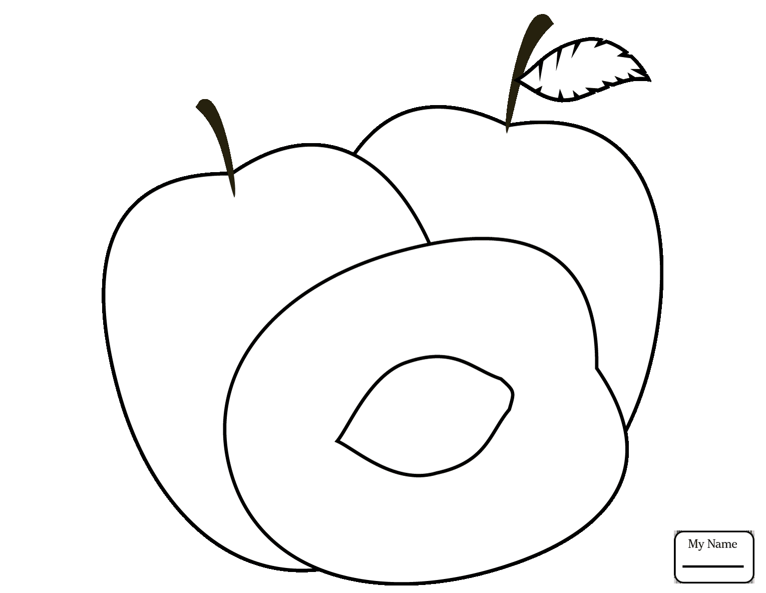 1530x1185 Coloring Pages For Kids Plum Plums Fruits