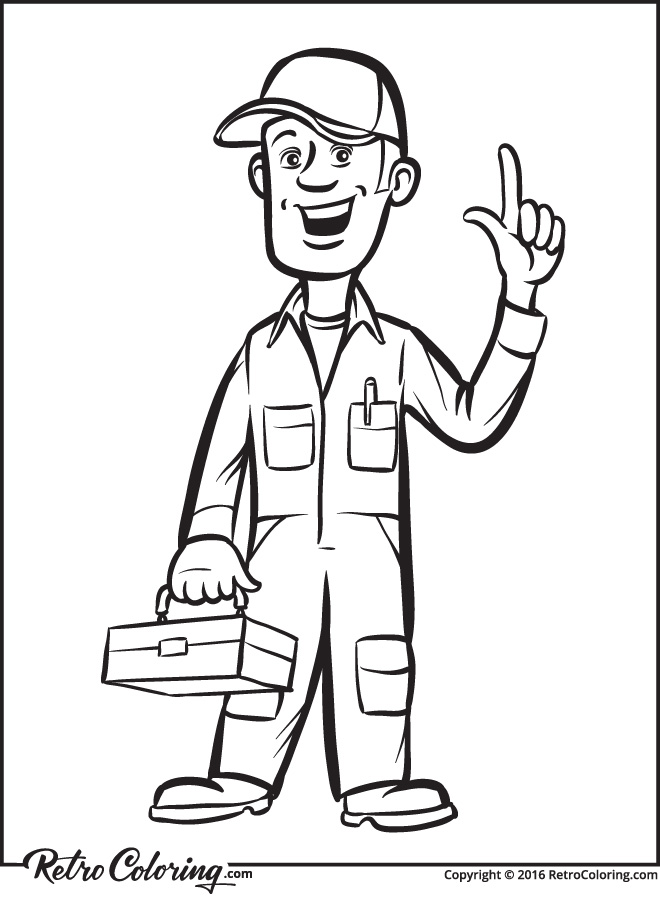 660x900 Plumbing Coloring Pages