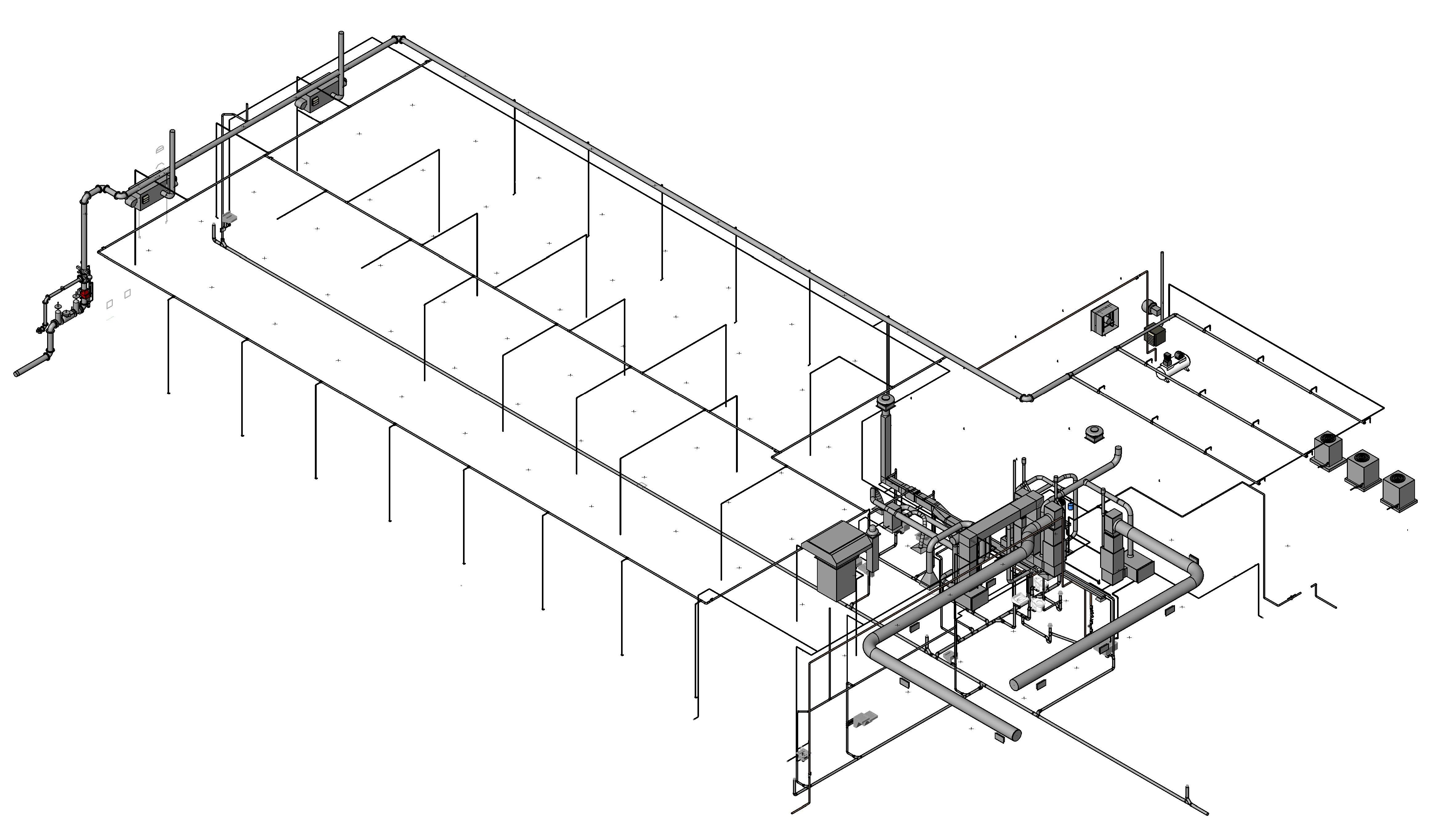 Plumbing Drawing At Free For Personal Use Of Hvac System 4684x2722 Barham Cain Mynatt Inc Revit And Building Information
