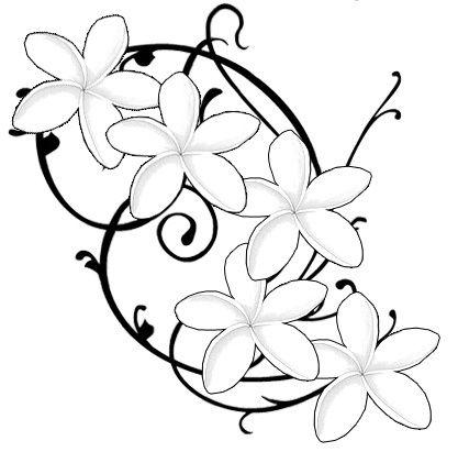 417x411 Plumeria Ink Tattoo, Tatting And Piercings