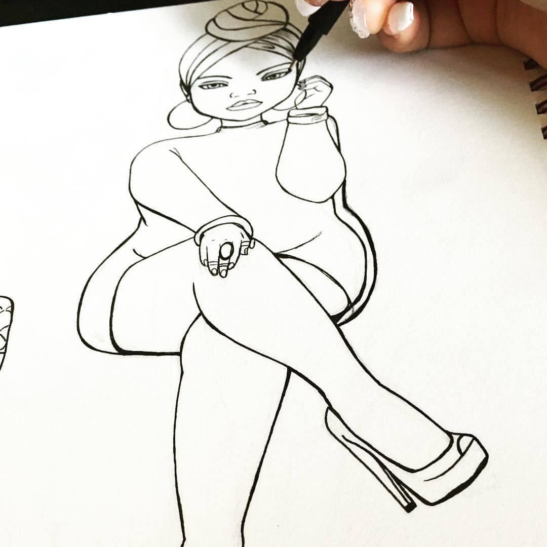 1080x1080 Jonquel Art Sketching Dope Things