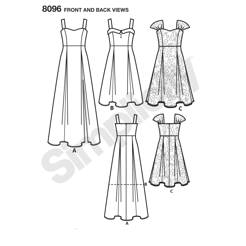 3000x3000 Pattern 8096 Amazing Fit Plus Size Dresses