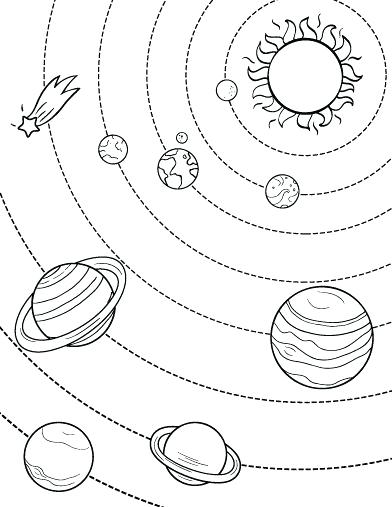 392x507 Planet Coloring Page Coloring Page Planet Coloring Pages Print