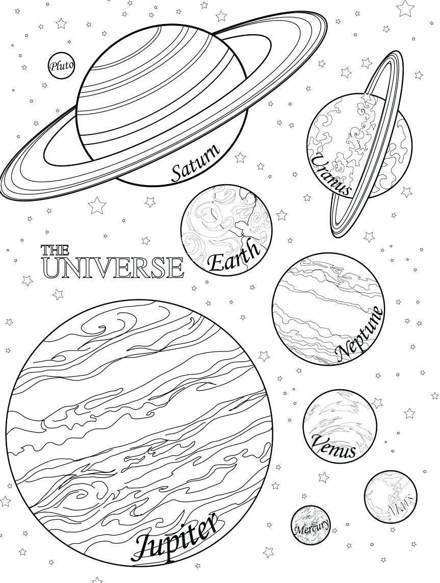 863x1143 Coloring Coloring Planets Pages Of Pluto Dwarf Planet. Coloring