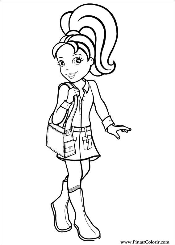 567x794 Drawings To Paint Amp Colour Polly Pocket