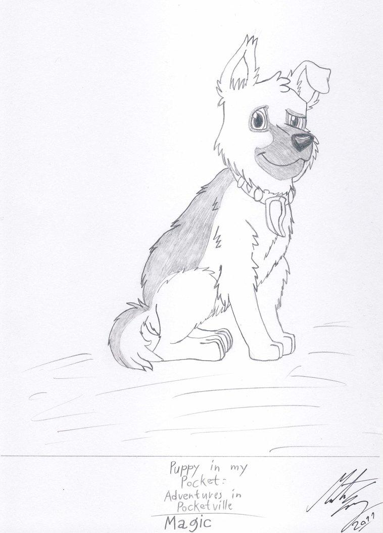 758x1054 Puppy In My Pocket