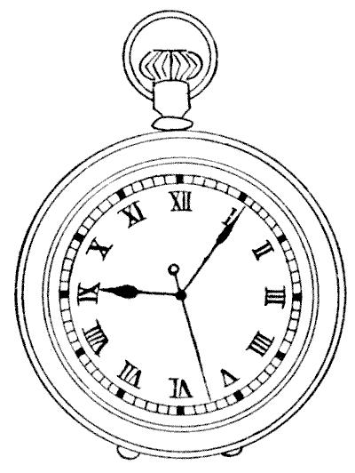 400x532 Drawn Watch Victorian
