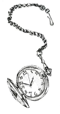 250x472 Pocket Watch By Jekell