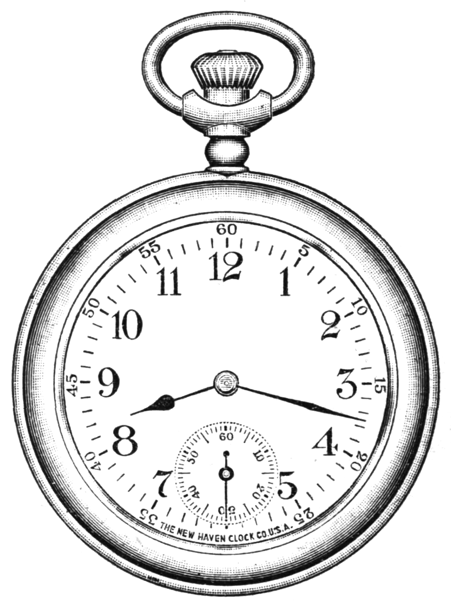 Pocket Watch Drawings: Pocket Watch Drawing At GetDrawings