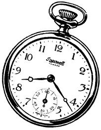 204x263 Pocket Watch Drawing Clipart Best It's My Party