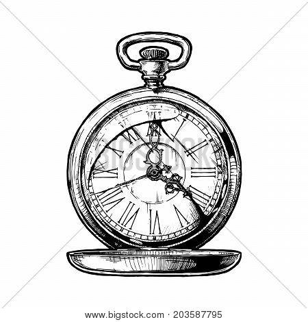 450x470 Pocket Watch Images, Illustrations, Vectors