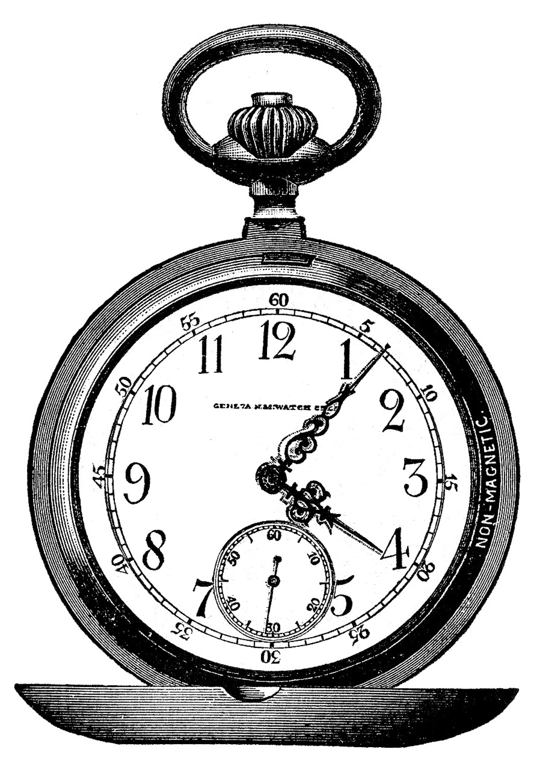 1054x1500 Pocket Watch Clipart