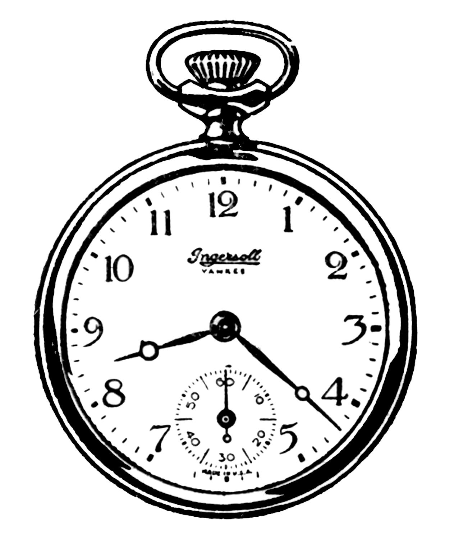 1263x1500 Pocket Watch Clipart