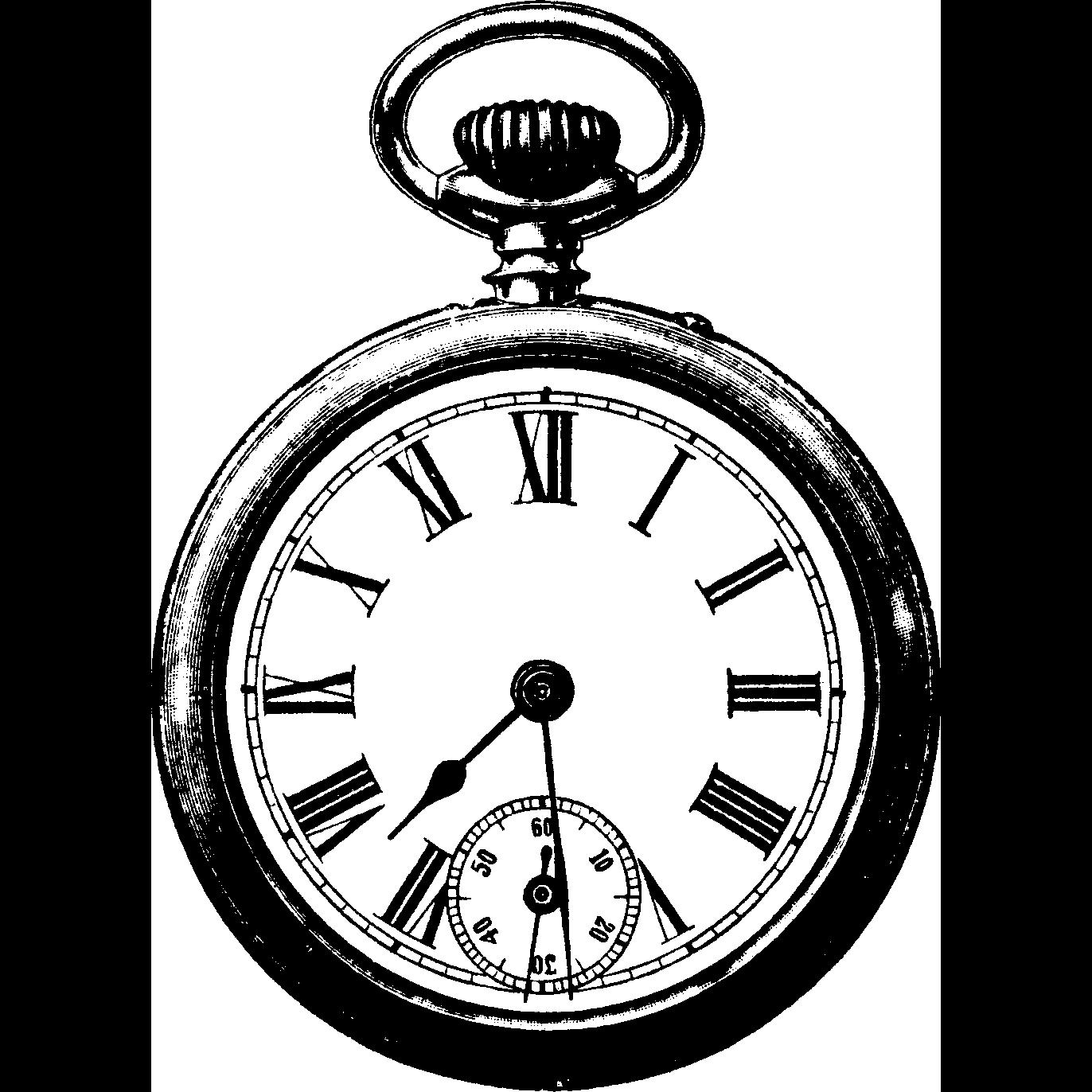 1372x1372 Vintage Clock Png Clipart Png Mart
