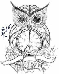 236x295 Clock Tattoo Designs