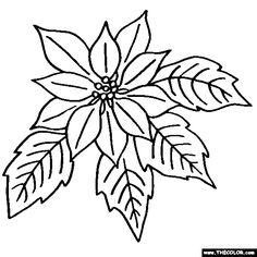 236x236 Printable Christmas Ornament Patterns Christmas Poinsettias Can