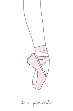 236x357 Line Drawings Of Ballet Shoes