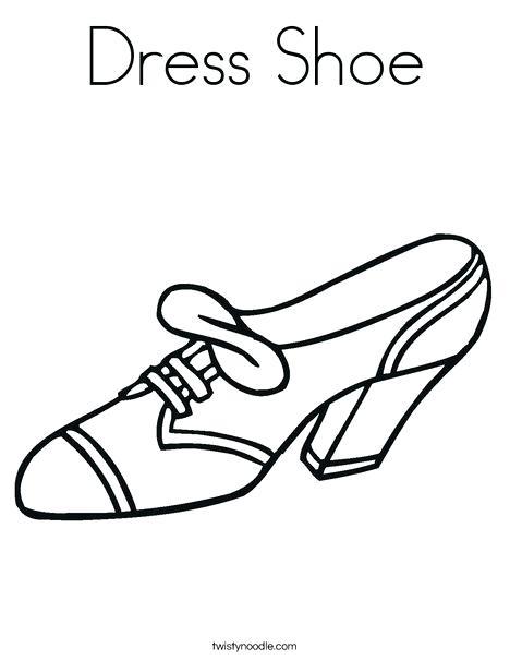 468x605 Shoes Coloring Page Dress Shoe Coloring Page Ballet Shoes