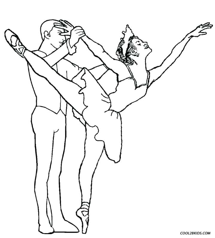 719x794 Ballet Coloring Pages Printable Coloring Pages For Occupational