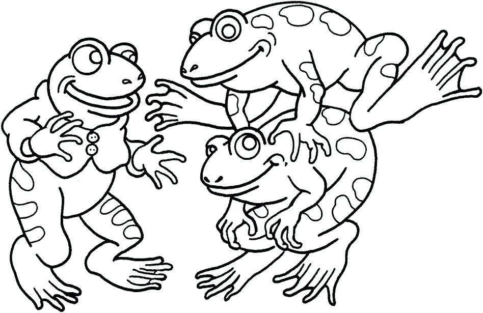 948x615 Printable Frog Coloring Pages Poison Dart Frog Printable Coloring