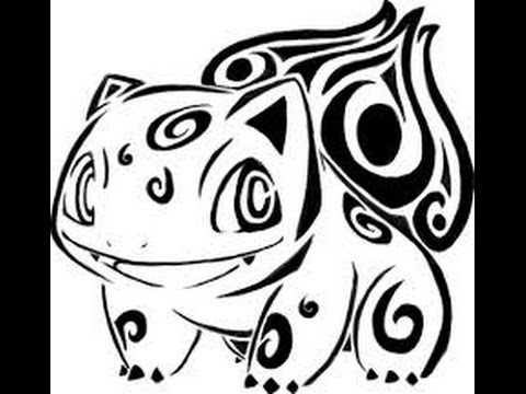 480x360 How To Draw Pokemon Bulbasaru Tribal Tattoo 75