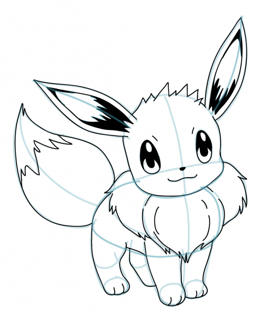 867x1024 Easy Drawing Pokemon Robocast Play The Web