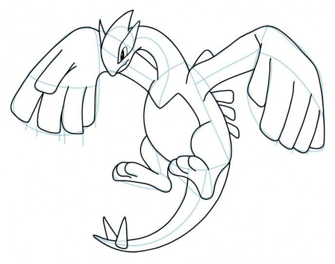 688x543 Drawn 3d Art Pokemon