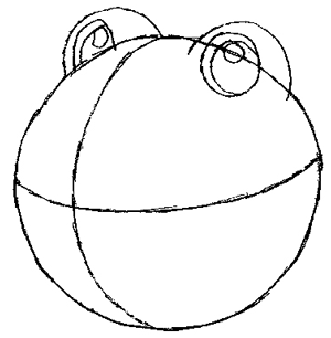 300x306 How To Draw Poliwhirl Pokemon Character With Easy Step By Step