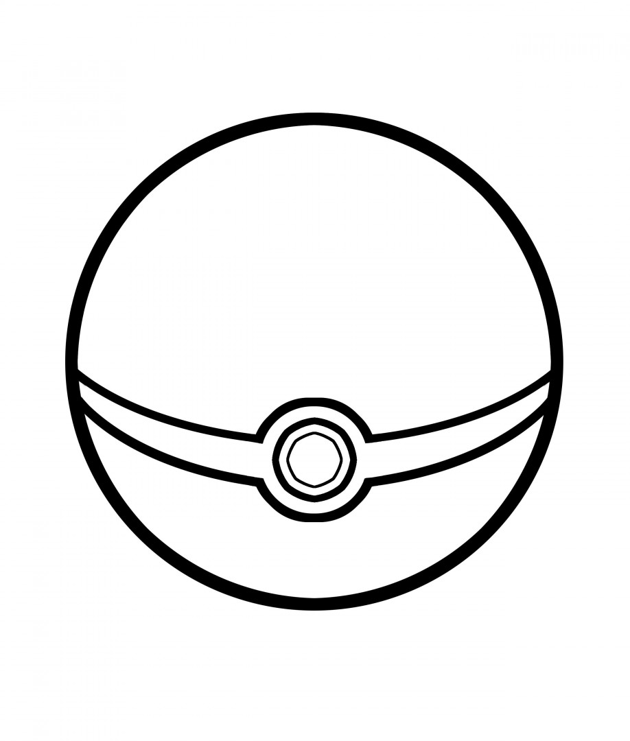 918x1080 Httpcolorings.copokemon Ball Coloring Pages Colorings