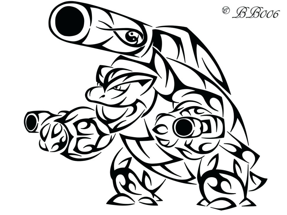 970x728 Pokemon Coloring Pages Blastoise Coloring Coloring Pages Mega