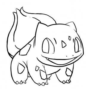 289x302 How To Draw Bulbasaur From Pokemon, Step By Step, Pokemon