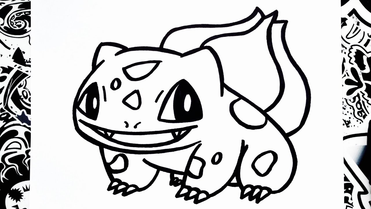 1280x720 Como Dibujar A Bulbasaur How To Draw Bulbasaur