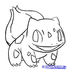 236x246 Easy Bulbasaur How To Draw Bulbasaur From Pokemon Step 8