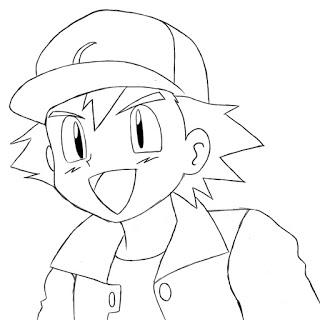 320x320 How To Draw Ash Ketchum Easy Drawings, Ash Ketchum And Ash