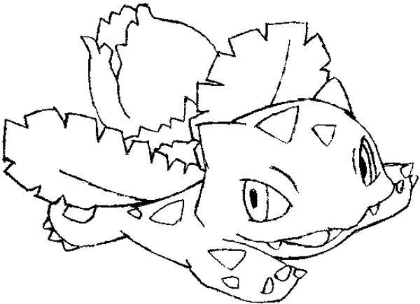 600x435 How To Draw Ivysaur From Pokemon Wit Easy Steps For Kids