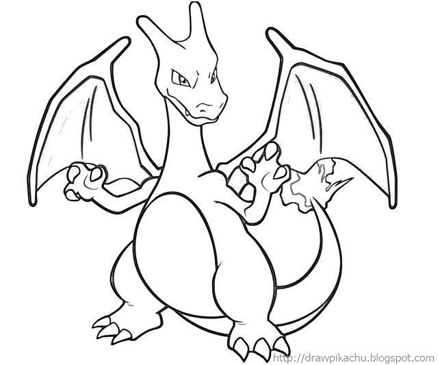 640x533 Pokemon Pictures To Color Charizard
