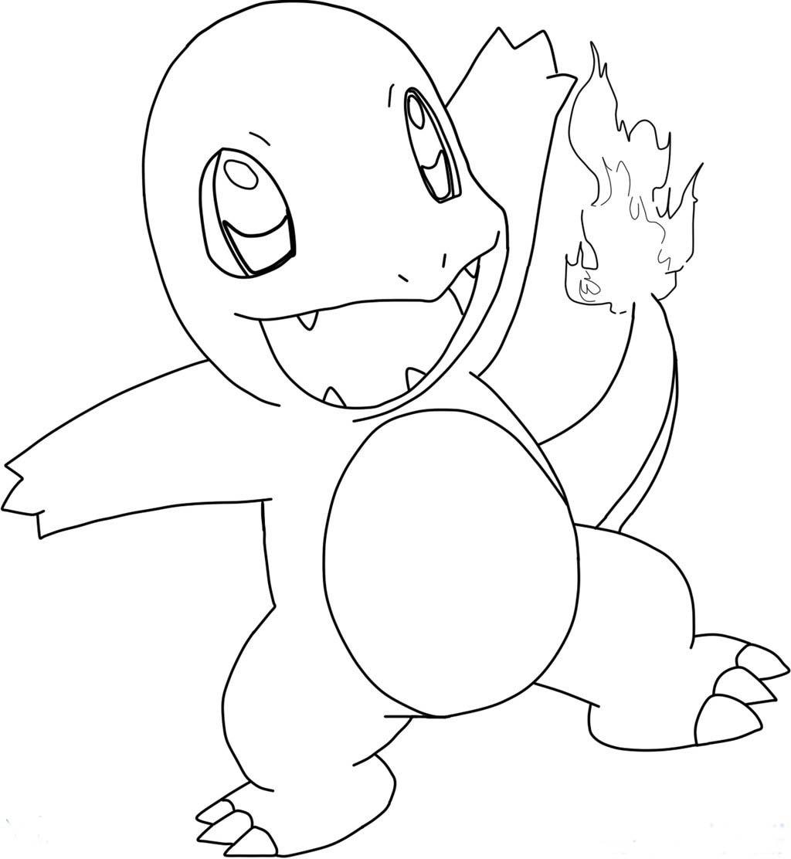 Pokemon Charmander Drawing at GetDrawings.com | Free for ...