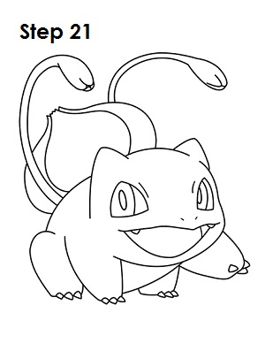 300x388 How to Draw Bulbasaur (Pokemon)