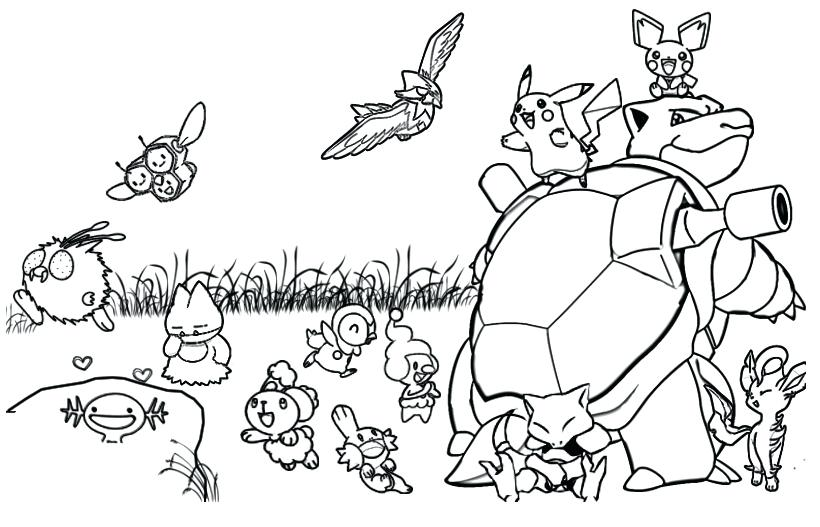 820x527 Pokemon For Coloring Coloring Pages Coloring Pages Pokemon