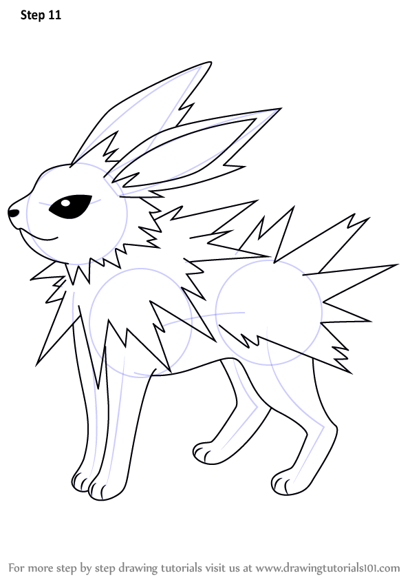 596x845 Jolteon From Pokemon Is A Well Known Character. Pokemon Is