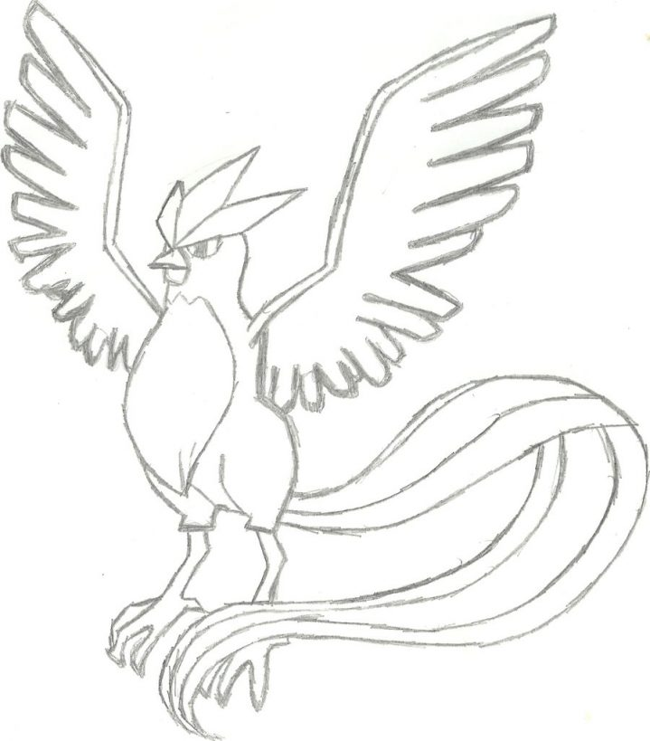 719x819 Trendy Ideas Pokemon Coloring Pages Articuno