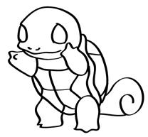 208x193 How To Draw Squirtle