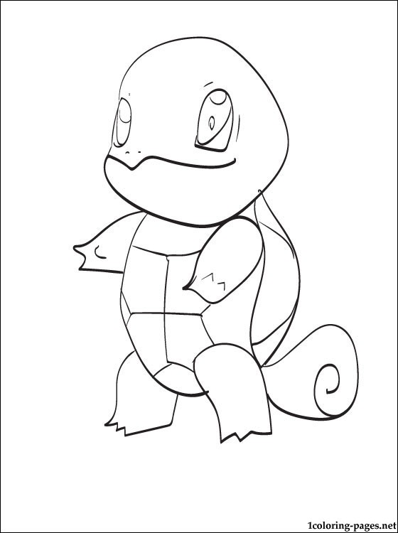 560x750 Pokemon Squirtle Easy Drawing